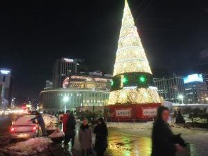 Seoul at Christmas